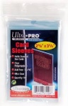 Ultra Pro Card Sleeves (100 2 5/8 x 3 5/8)