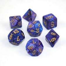 Chessex 7-die Set