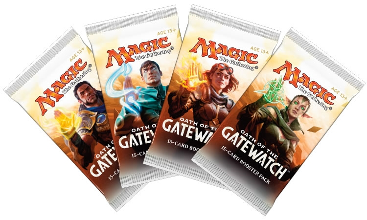 Magic the Gathering: Oath of the Gatewatch- Booster Pack
