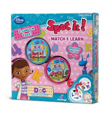Spot It! 2 in 1: Doc McStuffins