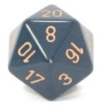 Chessex Dice d20