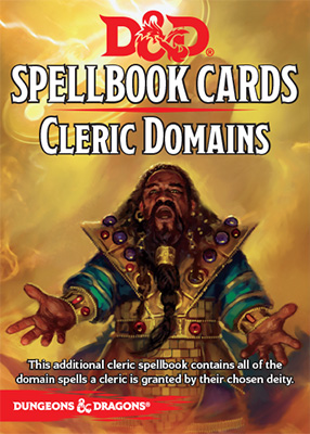 D&D Spellbook Cards: Cleric Domains
