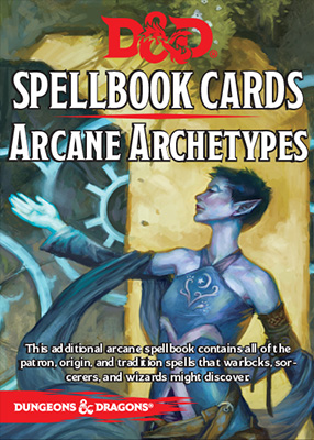 D&D Spellbook Cards: Arcane Archetypes