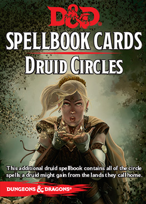 D&D Spellbook Cards: Druid Circles