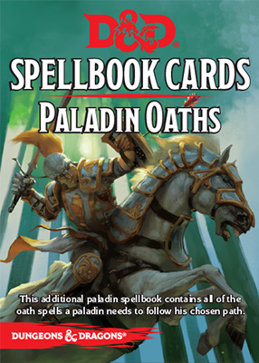 D&D Spellbook Cards: Paladin Oaths