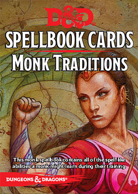 D&D Spellbook Cards: Monk Traditions